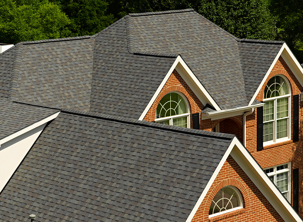 Picture of large house roof